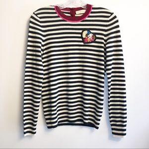 Tory Burch Cashmere Striped Sweater XS